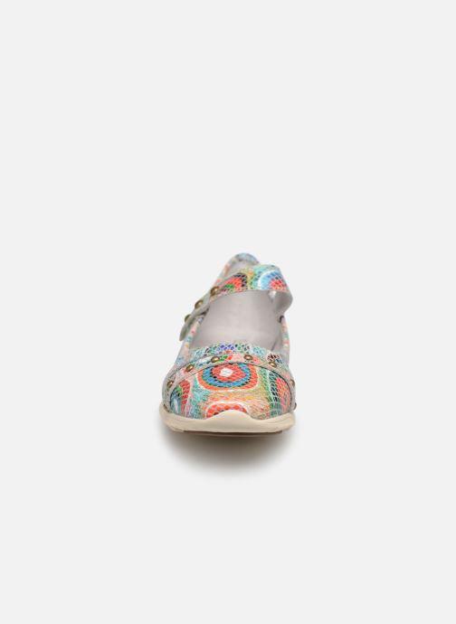 Ballerines Laura Vita Dexter 03 Bleu vue portées chaussures