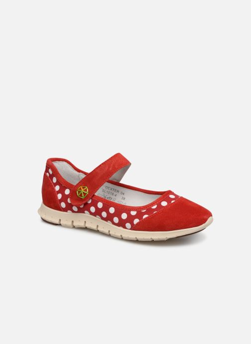 Ballet pumps Laura Vita Dexter 04 Red detailed view/ Pair view