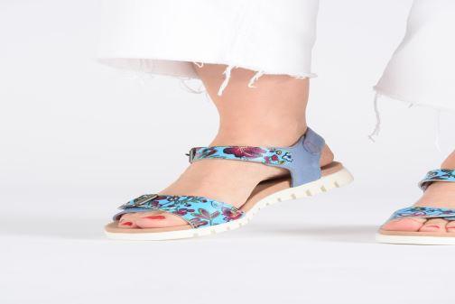 Sandales et nu-pieds Laura Vita Docbbyo 039 Bleu vue bas / vue portée sac
