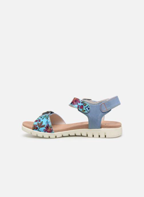 Sandales et nu-pieds Laura Vita Docbbyo 039 Bleu vue face