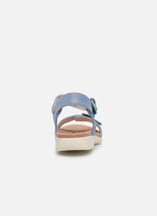 Sandales et nu-pieds Laura Vita Docbbyo 039 Bleu vue droite