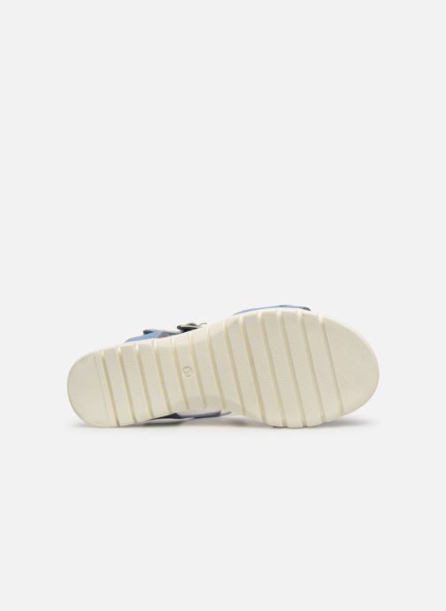 Sandales et nu-pieds Laura Vita Docbbyo 039 Bleu vue haut