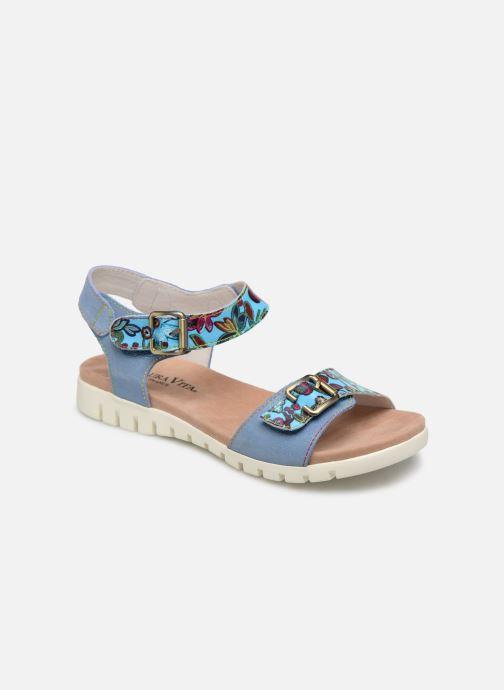 Sandales et nu-pieds Laura Vita Docbbyo 039 Bleu vue détail/paire