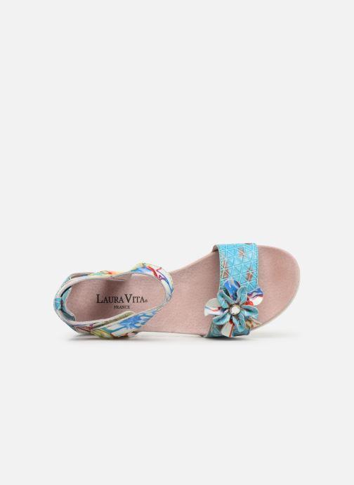 Sandales et nu-pieds Laura Vita Docbbyo 60 Bleu vue gauche