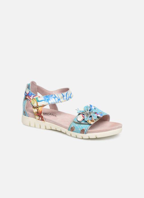Sandales et nu-pieds Laura Vita Docbbyo 60 Bleu vue détail/paire