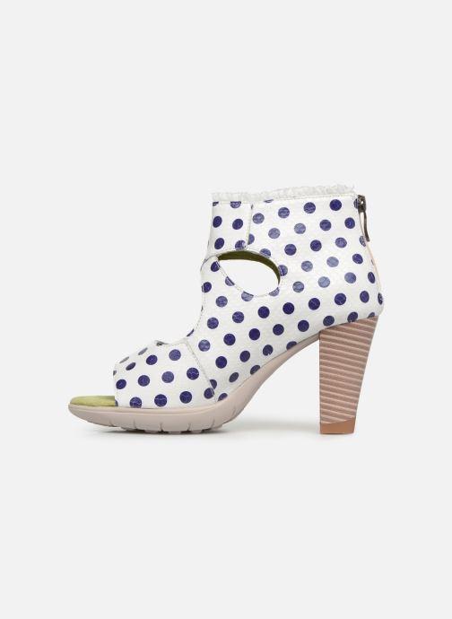Sandales et nu-pieds Laura Vita Donuts 018 Blanc vue face