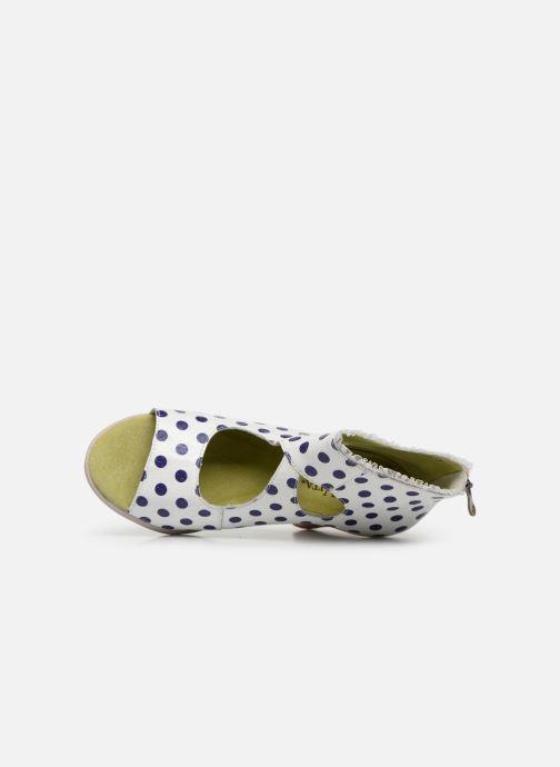 Sandales et nu-pieds Laura Vita Donuts 018 Blanc vue gauche