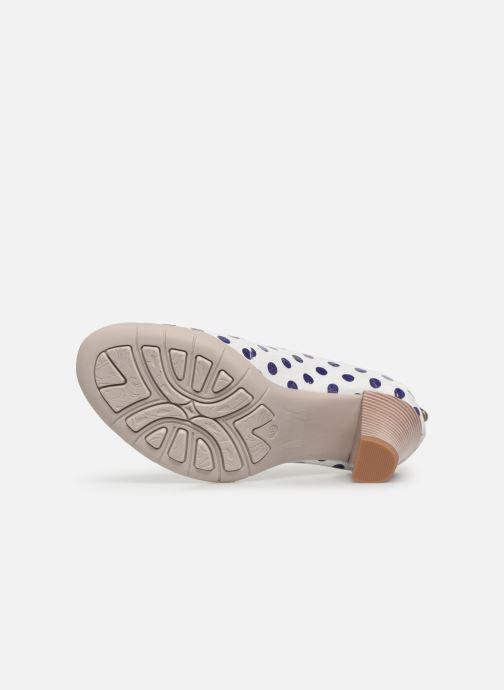 Sandales et nu-pieds Laura Vita Donuts 018 Blanc vue haut