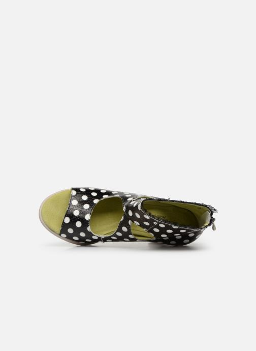 Sandales et nu-pieds Laura Vita Donuts 018 Noir vue gauche