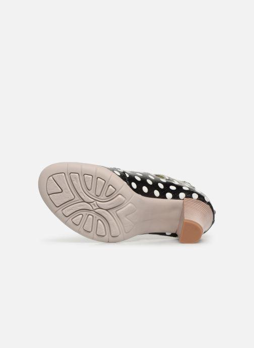 Sandales et nu-pieds Laura Vita Donuts 018 Noir vue haut