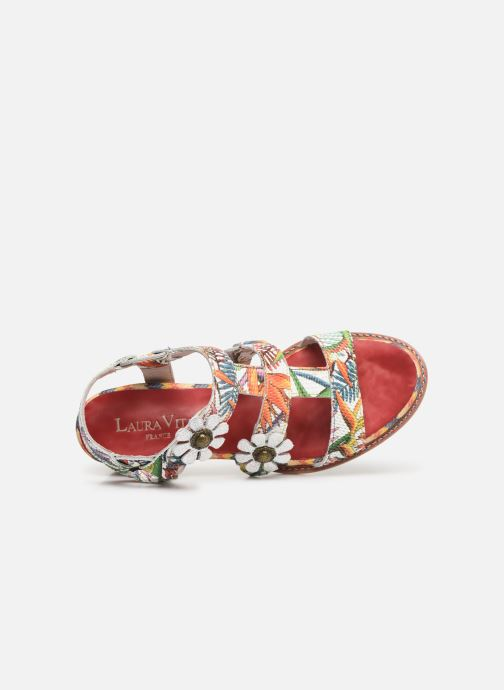 Sandali e scarpe aperte Laura Vita Facbuleuxo 01 Rosso immagine sinistra