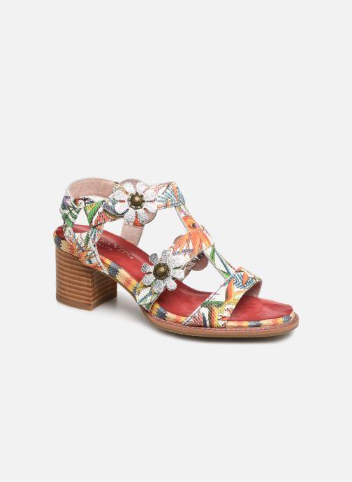 Sandali e scarpe aperte Laura Vita Facbuleuxo 01 Rosso vedi dettaglio/paio
