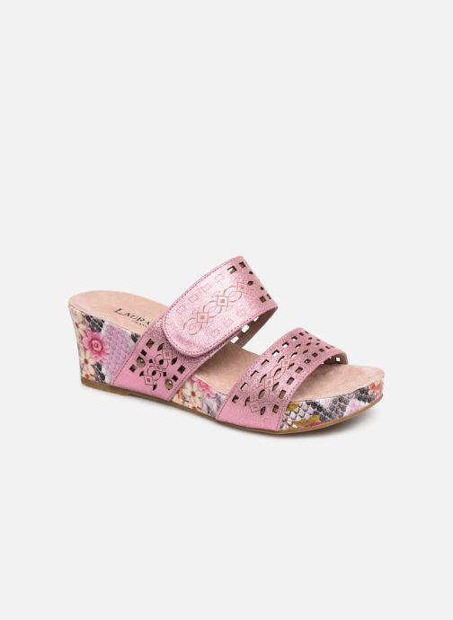Wedges Laura Vita Facdiao 05 Roze detail