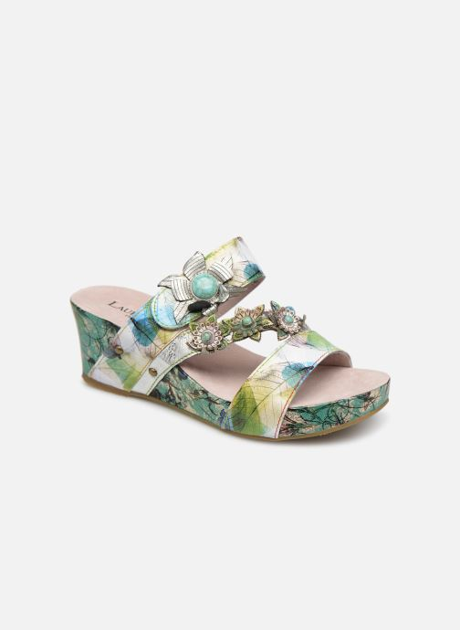 Mules & clogs Laura Vita Facdiao 06 Blue detailed view/ Pair view