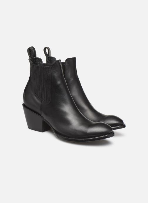 Bottines et boots Mexicana Estudio 2 Noir vue 3/4