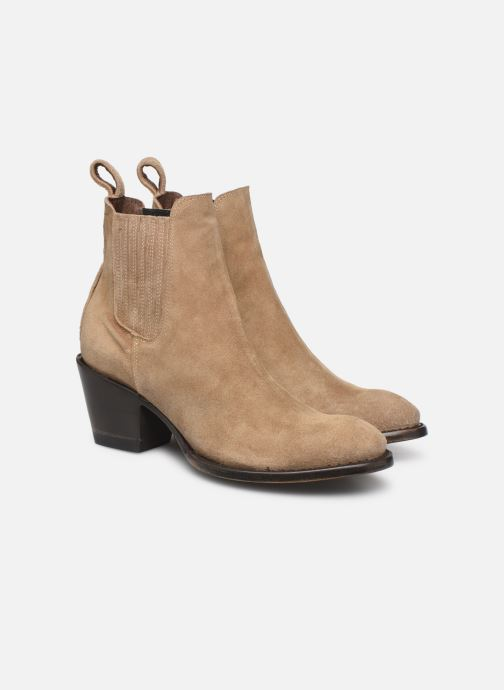 Boots en enkellaarsjes Mexicana Estudio 2 Beige 3/4'