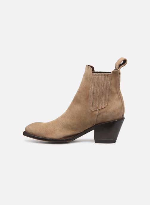 Boots en enkellaarsjes Mexicana Estudio 2 Beige voorkant