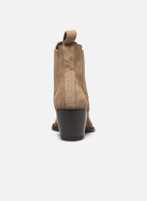 Boots en enkellaarsjes Mexicana Estudio 2 Beige rechts