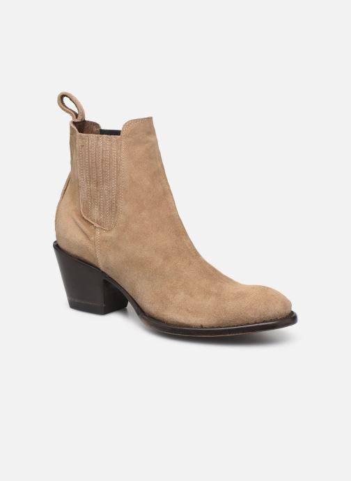Boots en enkellaarsjes Mexicana Estudio 2 Beige detail