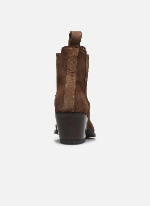 Bottines et boots Mexicana Estudio 2 Marron vue droite