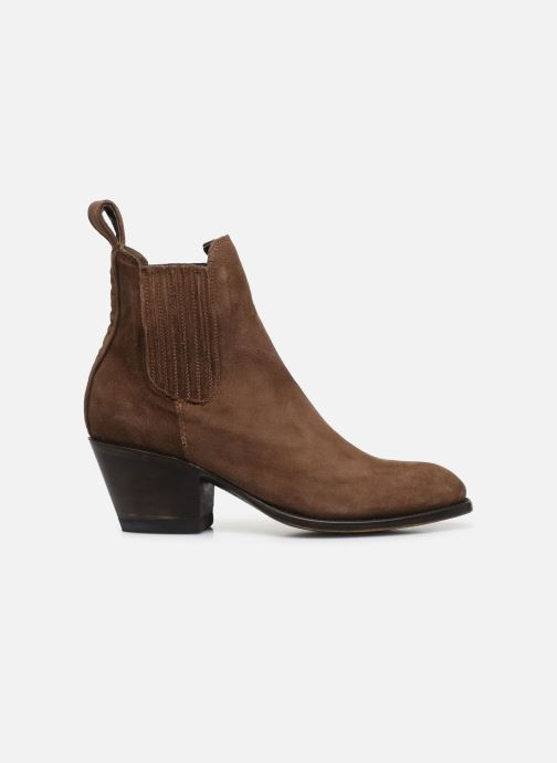 Bottines et boots Mexicana Estudio 2 Marron vue derrière