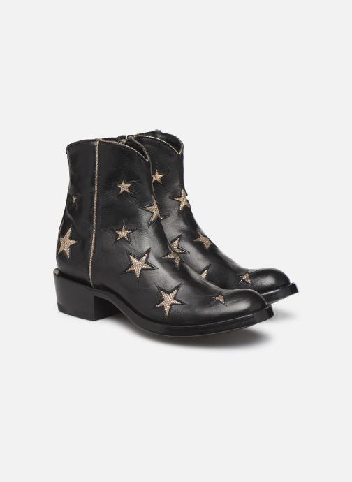Bottines et boots Mexicana Star Circus Noir vue 3/4