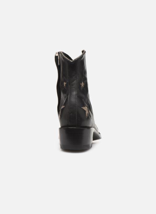 Bottines et boots Mexicana Star Circus Noir vue droite