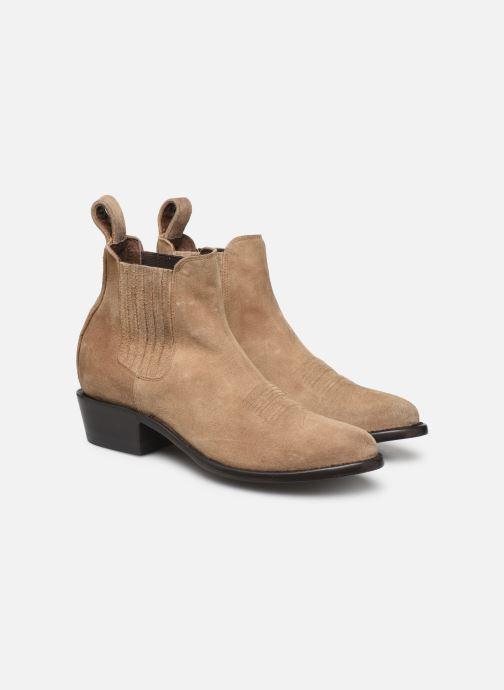 Boots en enkellaarsjes Mexicana Estudio Bis Beige 3/4'