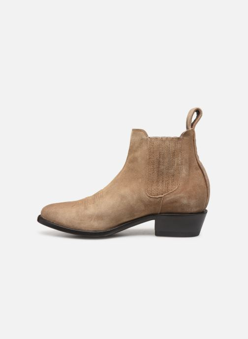 Boots en enkellaarsjes Mexicana Estudio Bis Beige voorkant