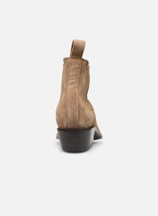 Bottines et boots Mexicana Estudio Bis Beige vue droite