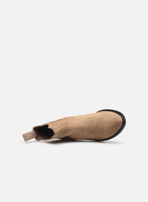 Boots en enkellaarsjes Mexicana Estudio Bis Beige links