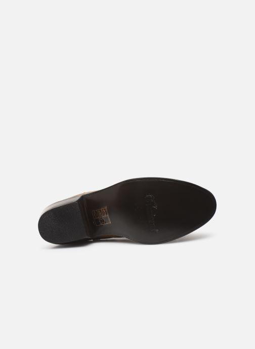 Boots en enkellaarsjes Mexicana Estudio Bis Beige boven