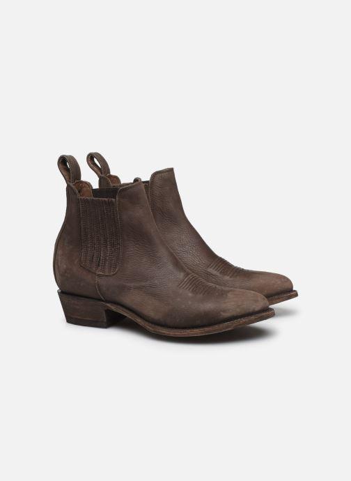 Bottines et boots Mexicana Estudio Bis Noir vue 3/4
