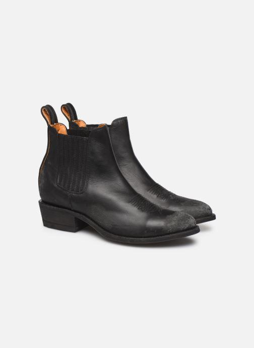 Boots en enkellaarsjes Mexicana Estudio Bis Zwart 3/4'