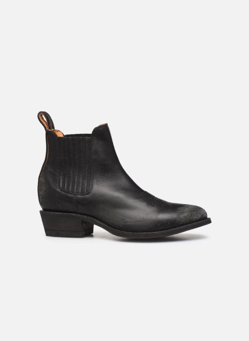 Boots en enkellaarsjes Mexicana Estudio Bis Zwart achterkant