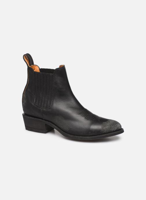 Boots en enkellaarsjes Mexicana Estudio Bis Zwart detail