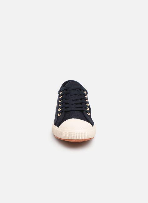 Baskets TBS Bullits Bleu vue portées chaussures