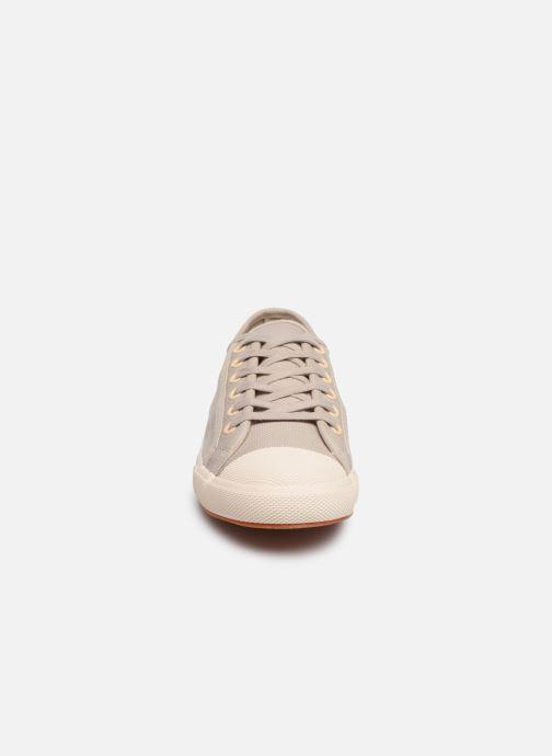 Baskets TBS Bullits Beige vue portées chaussures