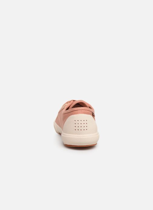 Sneakers TBS Bullits Rosa immagine destra