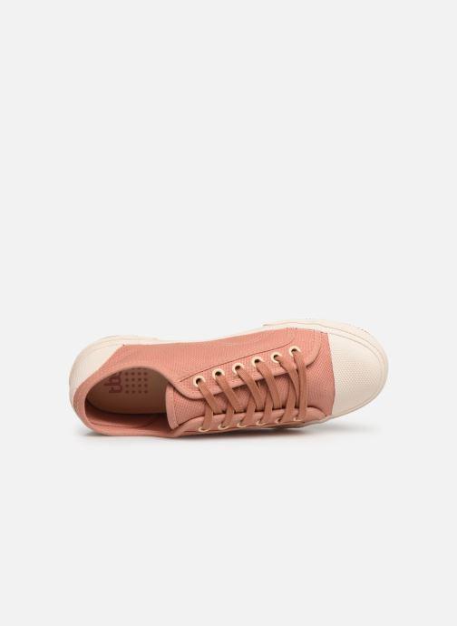 Sneakers TBS Bullits Pink se fra venstre