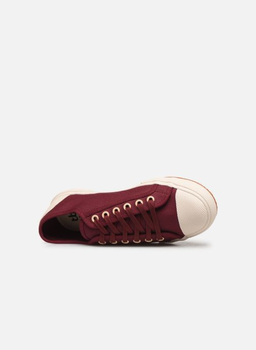 Sneakers TBS Bullits Bordò immagine sinistra