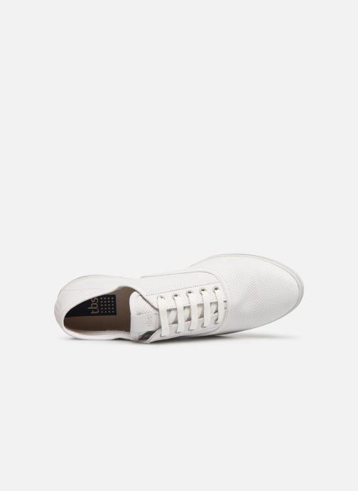 Sneaker TBS Coconut weiß ansicht von links