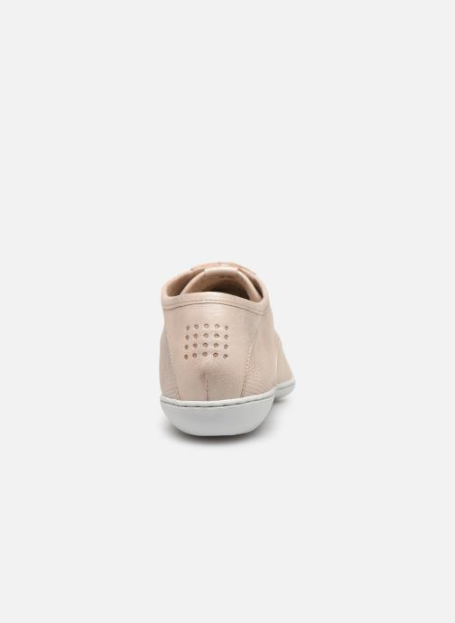 Trainers TBS Coconut Beige view from the right