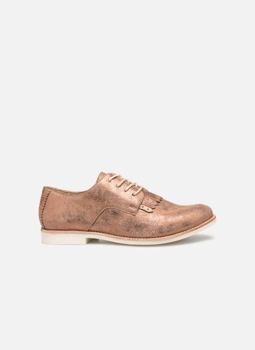 Zapatos con cordones TBS Wallace Oro y bronce vistra trasera