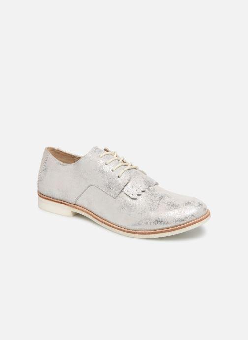 Chaussures à lacets TBS Wallace Argent vue détail/paire