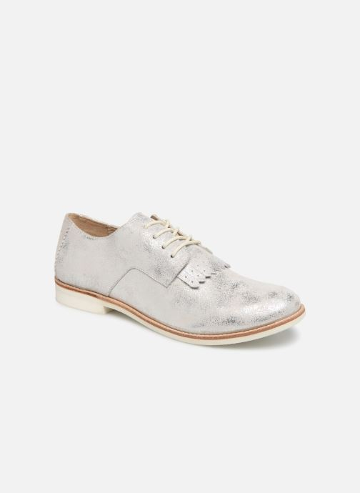 Zapatos con cordones TBS Wallace Plateado vista de detalle / par