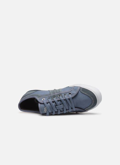 Sneaker TBS Edgard blau ansicht von links