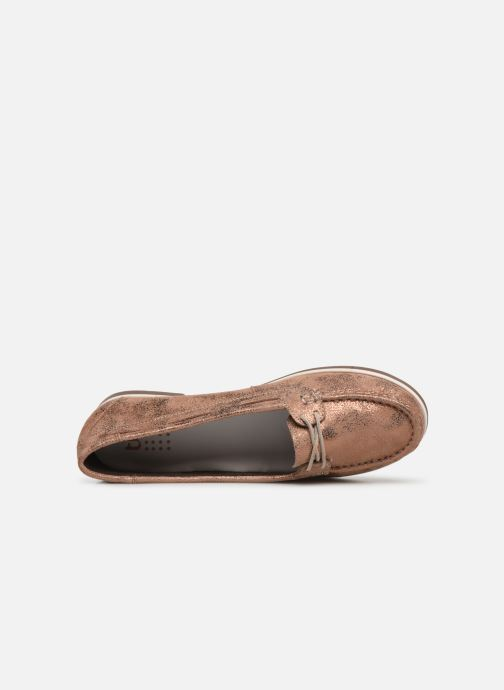 Loafers TBS Katniss Pink view from the left