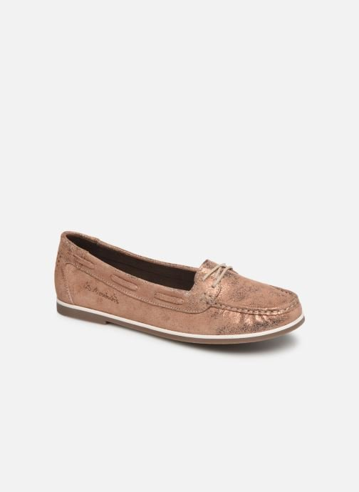 Loafers TBS Katniss Pink detailed view/ Pair view
