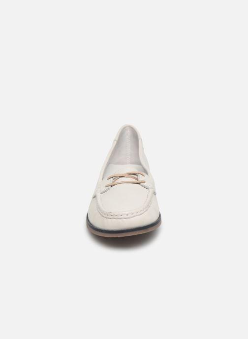 Mocassins TBS Katniss Blanc vue portées chaussures